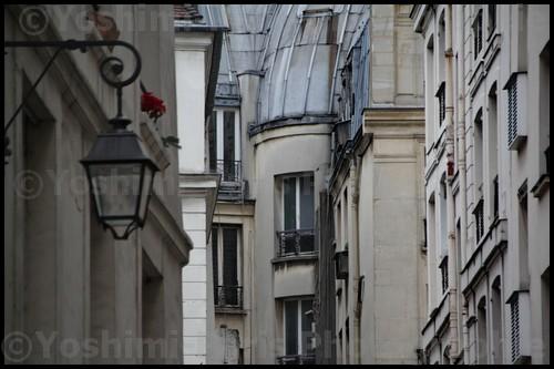 Façades du vieux Paris - Ile de la Cité
